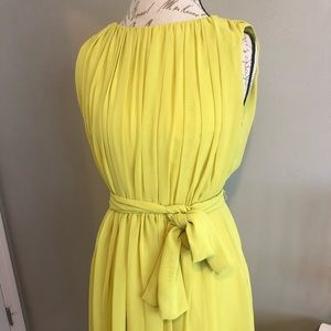 Lime green Calvin Klein dress